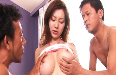Mai Uzuki curvy rack are groped and aroused in this video. Japanese beauty Mai Uzuki