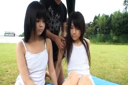 Chiwa Osaki petite body stripped nude and groped in public. Japanese beauty Chiwa Osaki