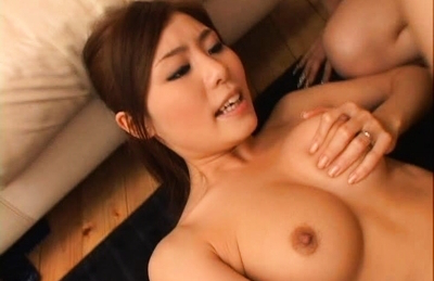 Aya Hirai gropes her own assets as boyfriend slides his dick into her. Japanese beauty Aya Hirai