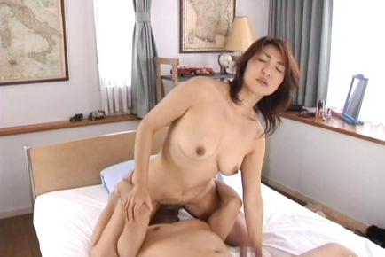 Kyoko lovely Asian doll in a hotel getting fucked and tits licked