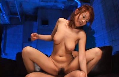 Reon Otowa kneels down to stroke two hard snakes in this video. Japanese beauty Reon Otowa