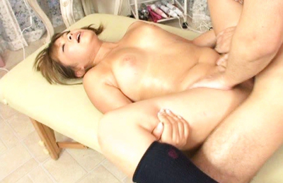 Myu Ishizaka Asian in black socks rides schlong and is boned more. Japanese beauty Myu Ishizaka
