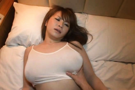 image Busty sumire matsu gets a creampie after group sex