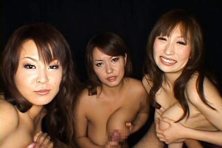 Japanese AV Models show off their sexy rack close up for photos. Japanese beauty Japanese AV Model