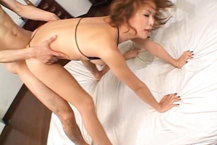 Akane Hotaru Asian has naughty jugs and well bonking of her vagina. Japanese beauty Akane Hotaru