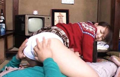 Shiori Kohinata looks so shy when is put to stroke boyfriend hose. Japanese beauty Shiori Kohinata
