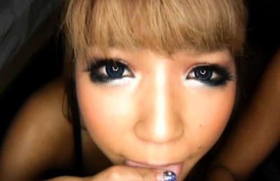 Japanese AV Model and girl lick dude body while doll sucks dick. Japanese beauty Japanese AV Model