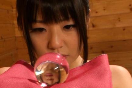 Japanese AV Model drills her cunt with fingers watched by babes. Japanese beauty Japanese AV Model