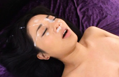Sora Aoi Asian big breasted gets sperm on face after is roughly screwed. Japanese beauty Sora Aoi