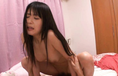 Tsubomi Asian hottie gets a hard love muscle ride for her juicy hole. Japanese beauty Tsubomi