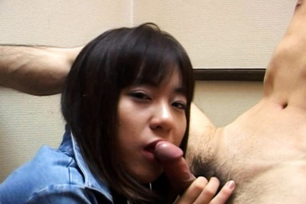 Rino Sayaka Asian with bee stings and downy sissy sucks wang
