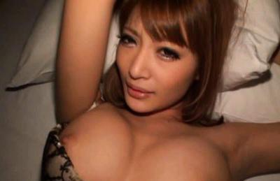 Kirara Asuka Asian exposes hot nude tits and lovely bottom in thong. Japanese beauty Kirara Asuka