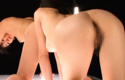 Japanese AV Model with hot rectum has slit licked by hot nymphet. Japanese beauty Japanese AV Model