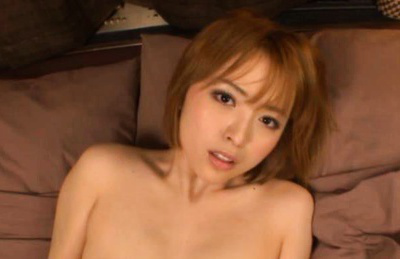 Yu Namiki Asian with big arse takes prick in mouth and chopper. Japanese beauty Yu Namiki