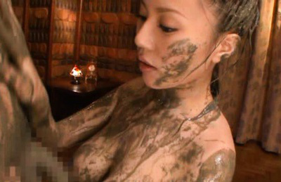 Ruri Saijoh Asian big breasted and ascivious of mud wants boyfriend dong. Japanese beauty Ruri Saijoh
