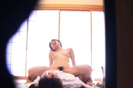 Rika araki. Rika Araki Asian has titties touched while getting