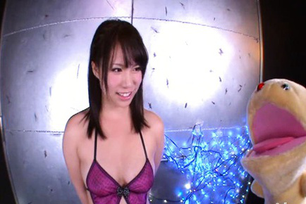 An shinohara. An Shinohara Asian exposes voluminous boobs with