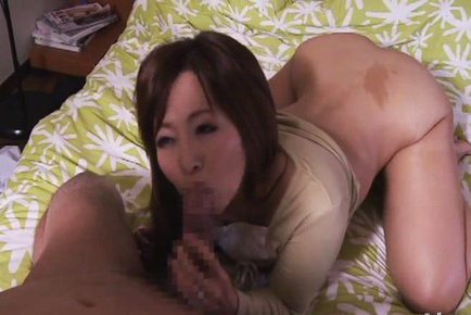 Kaori. Kaori Asian blow boner, is doggy nailed and has boobies fondled