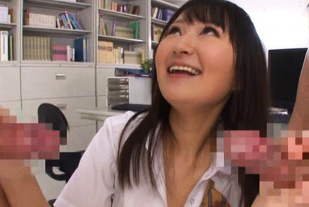 Ayumi kurebayashi. Ayumi Kurebayashi Asian shows tits to men and blow their boners