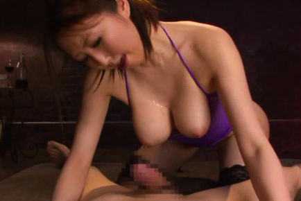 Seruka ichino. Seruka Ichino Asian with huge nude assets rubs cock and gets cumshot