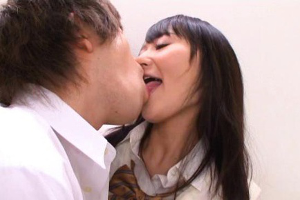 Ayumi kurebayashi. Ayumi Kurebayashi Asian licks balls and has vagina nude under skirt