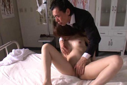Rina rukawa. Rina Rukawa Asian has boobies sucked while is fingered in nooky