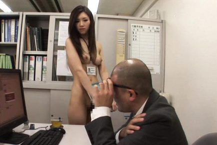 Arisa Aizawa Asian all naked and with fine boobs has quim touched. Japanese beauty Arisa Aizawa