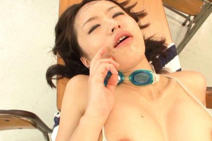 Kaede niiyama. Kaede Niiyama Asian has big tits exposed while is make love in class