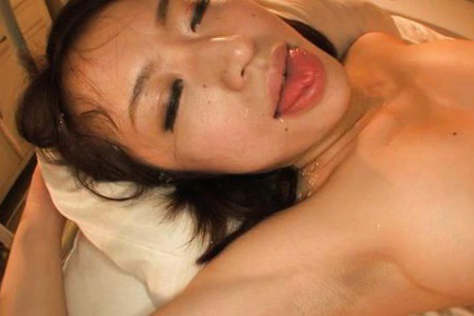 Kaede niiyama. Kaede Niiyama Asian with round jugs is kissed and fuck at once