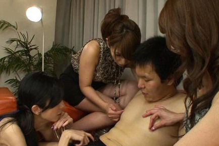 Misa yuki. Misa Yuki Asian and dolls arouse fellow and squeeze his nipples