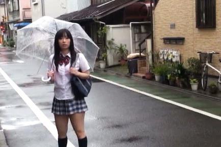 Japanese av model. Japanese AV Model is picked up on street and touched over tits