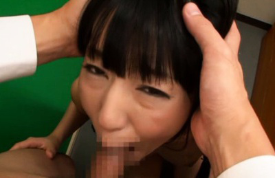 Mako higashio. Mako Higashio Asian with hot boobs is fuck in mouth on and on