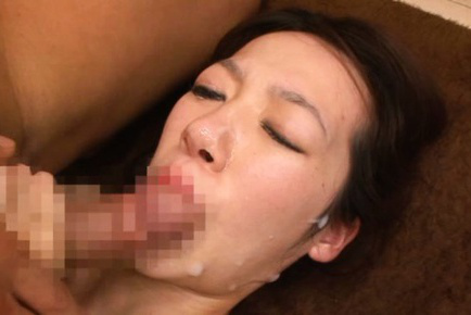 Rina ooshima. Rina Ooshima Asian gets cumshot on mouth after is screwed like crazy