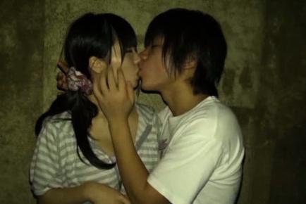 Ichigo Tominaga Asian is kissed and has hot cans revealed by he. Japanese beauty Ichigo Tominaga