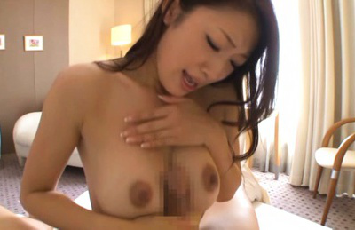 Reiko kobayakawa. Reiko Kobayakawa Asian suc man nipples and rubs dick with cans