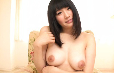 Satomi nomiya. Satomi Nomiya Asian smiles when her generous melons are revealed