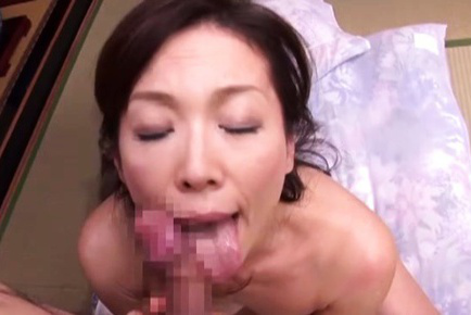 Mika Matsushita Asian licks tool and is fingered in sphincter. Japanese beauty Mika Matsushita