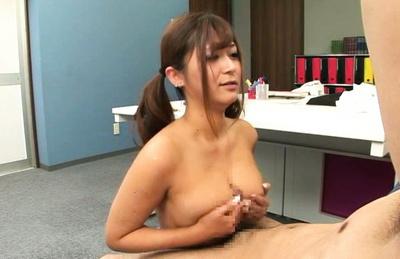 Satou haruka. Babe Satou Haruka cock sucking cock and tittyfucks befor hot cockriding