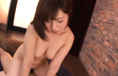 Wakaba onoue. Wakaba Onoue Asian naked and with big boobs strokes penish on floor