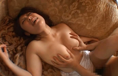 Haru Aoki Sexy Asian doll has her perfect  big knockers felt up on a date