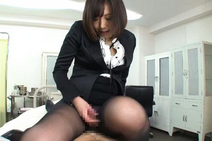 Kanari tsubaki. Horny Kanari Tsubaki gulp and rides a dick on