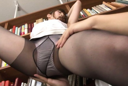 Miku ohashi. Miku Ohashi Asian is touched on horny legs over