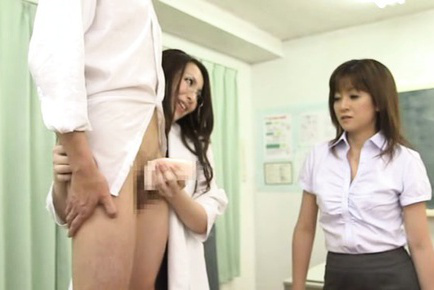 Japanese av model. Japanese AV Model in short skirt teaches