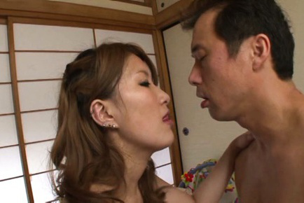 Ren aizawa. Hot Ren Aizawa blow penish and gets have intercourse