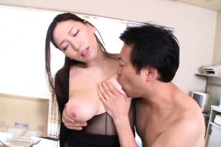 Sayuki kanno. Sayuki Kanno Asian in short skirt has body