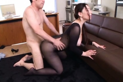 Sayuki kanno. Sayuki Kanno Asian with large tits out of nylon