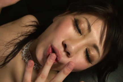 Japanese av model. Japanese AV Model is strongly fuck and eats the ejaculate she gets
