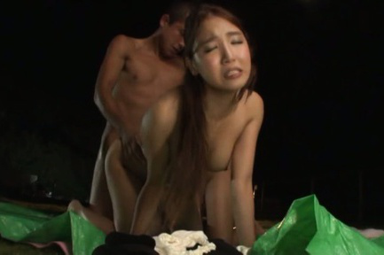 Japanese av model. AV Model and friend fuck cruel with one man