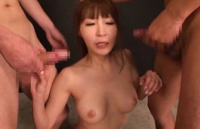 Rei aimi. Rei Aimi Asian takes whole shlongs in mouth and in ejaculate dumpster