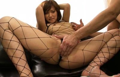 Kokone mizutani. Kokone Mizutani Asian has twat rubbed over
